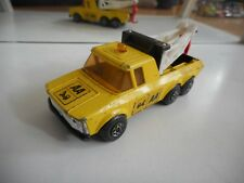 """Matchbox Super Kings Tow Truck pick-up """"AA"""" in Yellow"""