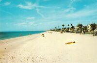 Pass-A-Grille Beach FL Florida Sunbathers Chrome Unused Beckett Vintage Postcard