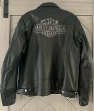 Harley Davidson Mens Limited Edition Forester Genuine Leather Jacket 97053 Sz XL