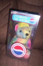 PEPSI CENTURY BEAR IN COLLECTOR ACRYLIC CUBE - Lil' Leaguer - FACTORY SEALED