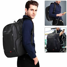 "DTBG 15.6"" Laptop Backpack School Bag Business Case with USB Travel College"