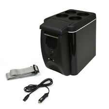 ALEKO Car Travel Compact Portable 12V Cooler or Warmer Black Color