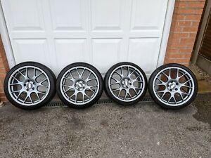 BBS CH-R wheels 19x8.0/9.0, Matt Titanium, with Michelin PS4S tyres, BMW TPMS