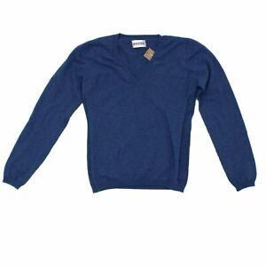 Brora Women's Jumper 10 Blue, 100% - cashmere