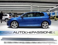 Coppia MInigonne per GOLF 5 6 modello R20 R-LINE 2008> Materiale ABS e GTI TDI