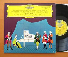 SLPM 138 638 Mozart Beethoven Wind Quintets Gulda Viena casi nuevo Tulipán Estéreo