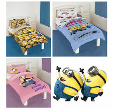 Pillow Case Minions Bedding Sets & Duvet Covers for Children