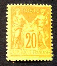 timbre france, n°96, 20c brique/vert, CN , xx, cote 110e
