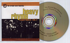 BRAND NEW HEAVIES Heavy Rhyme Experience Vol 1 UK promo test CD Gang Starr