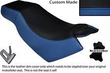ROYAL BLUE & BLACK CUSTOM FITS KYMCO CK PULSAR 125 OLD SHAPE DUAL SEAT COVER