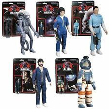 Alien 3 3/4-Inch ReAction Figures Set Free Shipping In The USA Only!