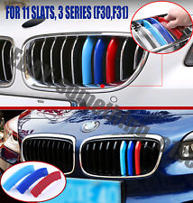 BMW 3 series saloon/estate f30/f31,8-slat Grill M tri-Color Cover/Cap/Clip/Strip