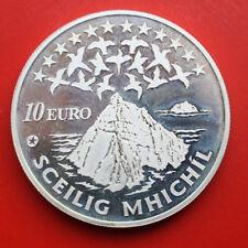 "Irland: 10 Euro 2008, Proof-PP, KM# 54, ""Sceilig Mhichil"", #F 0633, Europe-Star"