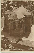 1953 OAKHAM - The School Chapel, from above
