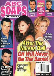 ABC SOAPS IN DEPTH June 26 2001 Lynn Herring Kristina Wagner Robert Kelker-Kelly