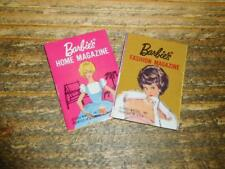 VINTAGE-BARBIE doll MISS GO TOGETHER FURNITURE ACCESS: HOME/FASHION MAGAZINES