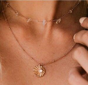 NWT Pura Vida April 2021 Jewelry Club Rose Gold necklaces