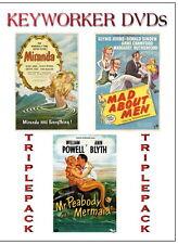 MERMAIDS TRIPLE PACK - MIRANDA, MAD ABOUT MEN, MR PEABODY & THE MERMAID
