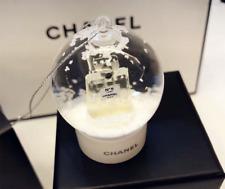 New Chanel No. 5 Perfumes VIP GIFT Small Snow Globe Ornament RARE & Collectible