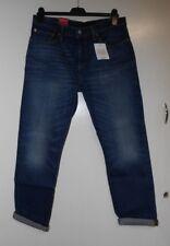 Levi's Dark Blue 501 Straight Leg Cropped Jeans 30W 32L TD077 NN 02