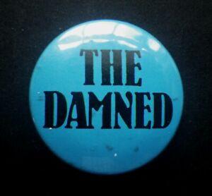c.1979 Original The Damned Badge Punk K519