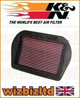 K&n Alto Rendimiento Filtro de Aire Motocicleta HA8089