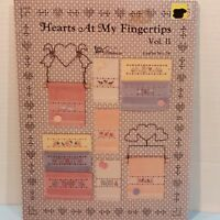 Hearts At My Fingertips 10 Counted Cross Stitch Patterns Projects Crafts
