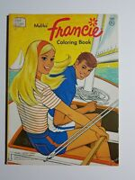 Mattel's Malibu Francie Whitman 1976 Vintage Coloring Book