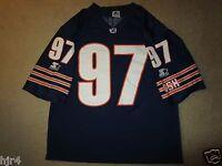Chris Zorich #97 Chicago Bears Notre Dame NFL Jersey LG L vintage