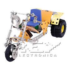 Moto three wheel tricycle 153 piece perforated metal children 8 years + j124