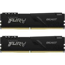 Kingston Fury Beast 32GB (2 x 16GB) PC4-25600 (DDR4-3200) Memory Card (KF432C16BB1K232)