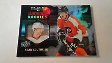 SEAN COUTURIER 2011-12 UPPER DECK BLACK DIAMOND LUSTROUS RC ROOKIE CARD #LR-13