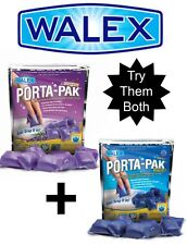2x Walex Lavender & Blue Porta Pak Holding Tank Deodorizer Toilet Chemical - RV