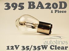 BA20D S2 395 12V 35/35W Motorcycle Headlight Lamp Light Bulb Clear Motorbike