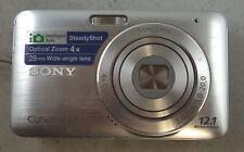 SONY CYBER-SHOT DSC-W310 12.1MP DIGITAL CAMERA BUNDLE ~Excellent condition