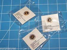 3 EA USMC MARINE CORPS HONORABLE DISCHARGE LAPEL HAT PIN BADGE BUTTON P38 OPENER