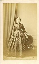 Victorian Carte de visite - LADY- FASHION  by City of London Photo Copy Co.
