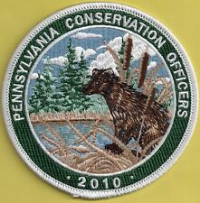 Pa Fish Game Commission New Pennsylvania Conservation Officers 2010 Otter Patch