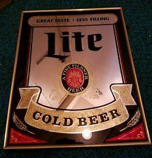 Lite beer mirror