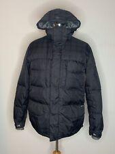 Burton Men's Coat Puffer Goose Down Insulated Snowboard Ski Jacket Black Sz M