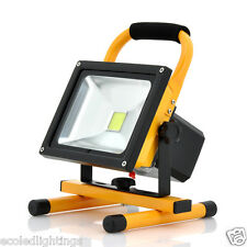 30W Rechargeable LED Flood Floodlight Work Light Portable Caravan Camping Cool