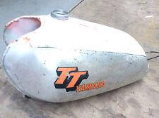 Yamaha TT 500 Fuel Tank , Used item 1977-78   Vintage Aluminum Gas Tank