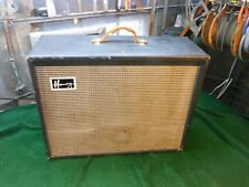 vintage 1960's harmony h-306 a combo electric guitar amplifier 1x12