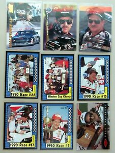 Dale Earnhardt - Assorted NASCAR Cards - 9ct Card Lot