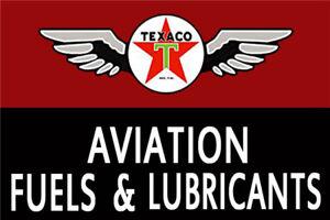 Metal Tin Sign texaco aviation Pub Home Vintage Retro Poster Cafe ART