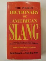 The Pocket Dictionary of American Slang: A Popular 1969