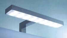 APPLIQUE DA BAGNO LAMPADA LED CROMATO PER SPECCHI ATTACCO A CORNICE,LUCE 93200