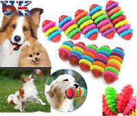 Durable Rubber Pet Dog Cat Dental Teething Healthy Teeth Gums Chew Play Toys