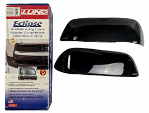 Lund 36251 - Eclipse Smoke Dark Headlight Cover for 1987-93 Ford Mustang - NOS