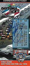 1998 Dale Earnhardt Sr Signed Daytona 500 Commemorative Ticket #d 1000 Auto COA
